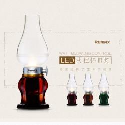 ตะเกียงโคมไฟแอลอีดี Retro Blowing Control LED USB - Brown สีน้ำตาล