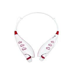LG หูฟังบลูทูธ MP3 bluetooth stereo headphone TF card FM radio รุ่น S745T - Black สีขาว