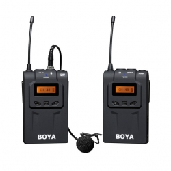 BY-WM6 Boya Wireless UHF Microphone For DSLR Mirrorless Camera ไมค์โครโฟนไร้สายกล้อง DSLR