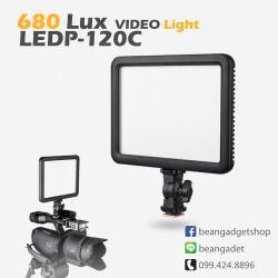 ไฟต่อเนื่อง ไฟวิดีโอ ไฟแต่งหน้า Godox LEDP120C Ultra Slim Led Video Light CRI95 3300-5600K