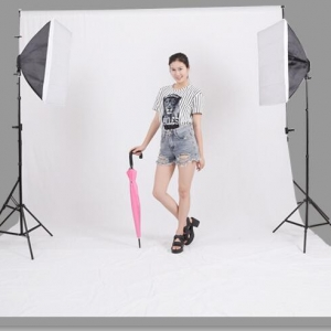 ผ้าฉากถ่ายรูป 3 x 6m SD-20171011 photography studio video backdrop background screen สีขาว white