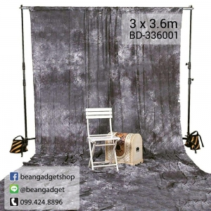ฉากถ่ายรูป Cotton 3 x 3.6m / 9.8 x 11.8ft BD-336001 photography studio video tie dyed backdrop background screen