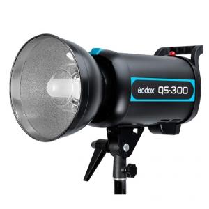 Godox QS300 300Ws Professional Photo Studio Strobe Flash Light แฟลชสตูดิโอ ไฟสตูดิโอ bowen mount