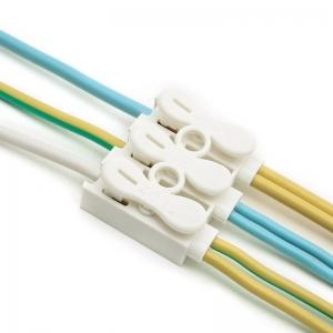 ขั้วต่อสายไฟ เทอมินอลต่อสายไฟ ขั้วต่อสายคอนโทรล ลูกเต๋าเชื่อมต่อสายไฟ 3 ช่อง OOP ZQ-3P 1 ชิ้น Wire Terminal Block Connector