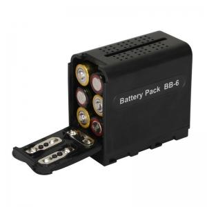กล่องแบตเตอรี่ กล้อง SONY PF-970 NP-970 NP-F950 NP-F960 F770 DCR-VX2100 ไฟต่อเนื่อง LED YN-300 YN-600 แบตเตอรี่กล้องโซนี่