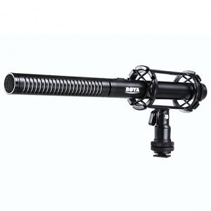 ไมโครโฟน สัมภาษณ์ ภาพยนตร์ ละคร ทีวี คลิป BOYA BY-PVM1000 Shotgun Microphone XLR Connector