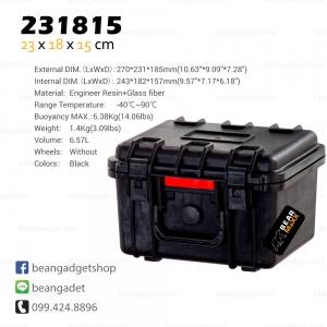 กระเป๋ากล้อง กันกระแทก กันน้ำ Waterproof Case IP67 54 x 40 x 25 cm BearMaxx #231815
