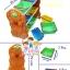 SALE )) ชั้นวางของ อเนกประสงค์ 9 ช่อง ชั้นวางของเล่น อเนกประสงค์ ตัวตลก thumbnail 3