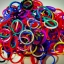 100% ซิลิโคน สี Rainbow Loom Band คละ 11 สี 600เส้น ( # 14 ) thumbnail 1