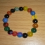 สร้อยข้อมือ หินมงคลโมรา 5 สี สร้างภูมิคุ้มกัน สร้างสมรรถภาพทางเพศ (ความรัก) thumbnail 1