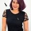 บริการทำสีผม Purple Pink Hair Color สีผมม่วงเปลือกมังคุด thumbnail 4