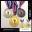 เหรียญรางวัล/กีฬา ML-5003 รุ่นโปรโมชั่น thumbnail 3