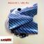 ฝาครอบสเตอร์หน้า-เคฟล่า wave110i / ดรีม 4D ดำ thumbnail 1