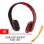 หูฟังบลูทูธ OOP QC35 Super Bass bluetooth 4.1 + Microphone - Red สีแดง