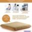 เบาะรองนั่ง เพื่อสุขภาพ (CU-006) พร้อมส่ง หมอนรองนั่ง เมมโมรี่โฟม ทรงเหลี่ยม ขนาดใหญ่ (Large Size Square Memory Foam Cushion) thumbnail 3