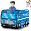 เต็นท์ รถตำรวจ สีน้ำเงิน/ฟ้า พร้อมลูกบอล 50 ลูก **Police Car design Play House with Ball 50 thumbnail 1