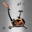 จักรยานนั่งปั่นออกกำลังกาย ในบ้าน ระบบแม่เหล็ก รุ่น ex-02 สีดำ-ส้ม Glossy thumbnail 2