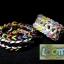ซิลิโคน Loom Band เรืองแสง(Glow in the dark )/ สีดำ 100% Silicone 600 เส้น(GBL) thumbnail 4