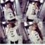เสื้อเชิ้ตขาวพิมพ์ลาย TEXT!! thumbnail 4