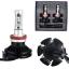 ไฟหน้า LED ขั้ว H11 Philips Chip 50W รุ่น X3 thumbnail 3