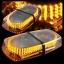 ไฟไซเรนติดหลังคา LED 240 ดวง แสงสีส้ม thumbnail 7