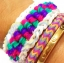 100% Silicone Loom Band รุ่นซิลิโคน สีม่วงองุ่น 600 เส้น( # 8 ) thumbnail 2