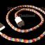 หนังยางถัก Loom band Glow in the Dark คละสี 100% Silicone ( GM ) thumbnail 4