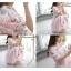 เสื้อผ้าฝ้ายนิ่ม ฉลุทั้งตัว พิมพ์ลายดอก แขนพองตุ๊กตา thumbnail 4