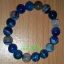 สร้อยข้อมืออาเกตสีฟ้า (Agate) หินมงคลมั่งคั่งร่ำรวย หินปกป้อง หินนำโชค thumbnail 1