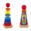 ของเล่นไม้ ชุดเสาหลักตัวต่อ Tower Shape เจดีย์ ขนาดใหญ่ รูปทรงต่างๆสวมหลัก thumbnail 3