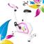 จักรยานนั่งปั่นออกกำลังกาย ในบ้าน ระบบแม่เหล็ก รุ่น ex-02 สีขาว-ชมพู Glossy thumbnail 3