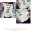 เสื้อเชิ้ตขาวพิมพ์ลาย TEXT!! thumbnail 7