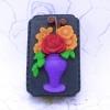 แม่พิมพ์สบู่ รูปแจกันดอกไม้ 90g