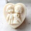 แม่พิมพ์ รูปหัวใจ คู่แต่งงาน 100g