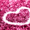 glitter สีชมพูอ่อน 50g 001004