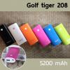 แบตสำรอง Powerbank Golf Tiger 208 5200mAh ราคา 215 บาท