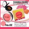 Sivanna Colors Matte Blusher HF677 บลัชออนสีหวาน โปรโมชั่นโดนใจ ถูกสุด