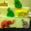 แม่พิมพ์ ช้างแบบก้อน 5 ช่อง