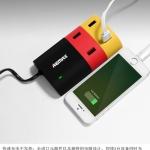 Remax HUB Adapter USB 4 Port 6A DSC5620 ชาร์จโทรศัพท์มือถือ