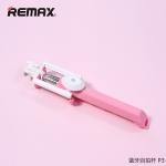 Remax P3 Selfie Stick Monopod Handheld & Remote Bluetooth ไม้เซลฟี รีโมท - Pink สีชมพู