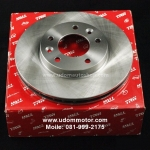 จานดิสเบรคหน้า RANGE ROVER EVOQUE / Front Brake Rotors, อีโวค, SD4