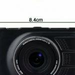 กล้องติดติดรถยนต์ Full HD รุ่น Q7 WDR จอ LED 3 นิ้ว คมชัดสุดๆ ส่งฟรี EMS