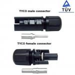 cable & connector(ตัวเชื่อมสายไฟ) แบบ MC4-Tyco