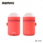 ลำโพงบลูทูธ Remax RB-MM เบสแน่นตื้ดๆ LED เปลี่ยนสีไปเรื่อย Red สีแดง