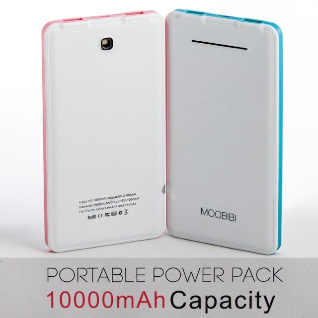 แบตสำรอง powerbank Moobibi รุ่น note3 10000mAh ราคา 329 บาท