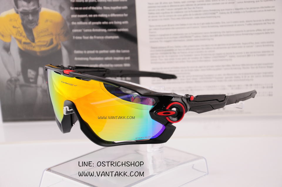 Oakley Jawbreaker Black Red