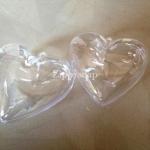 แม่พิมพ์ BathBomb รูปหัวใจ 6.5*6.5*3.5cm