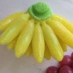 แม่พิมพ์ รูปกล้วยไข่ 5 ช่อง120g