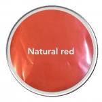 Mica สีแดงธรรมชาติ (แดงอมส้ม) Natural Red 30g