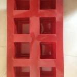 แม่พิมพ์ซิลิโคน สี่เหลี่ยม 8 ช่อง 100 g
